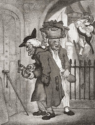 Love Laughs At Locksmiths, After Thomas Print by Vintage Design Pics
