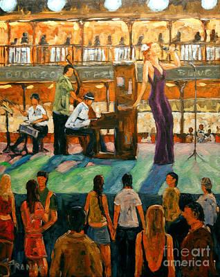 Painting - Love Of Jazz By Prankearts by Richard T Pranke
