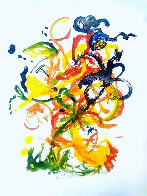 Love Of Nature Colours Print by New Life