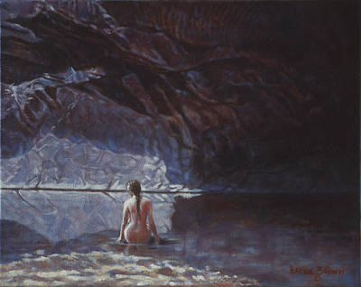 Earthtone Painting - Love Of Nature by Harvie Brown