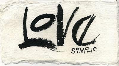 Love Original by Simone Frank