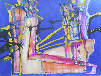 Lovers I Original by Katerina Stamatelos