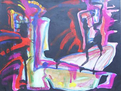 Lovers II Original by Katerina Stamatelos