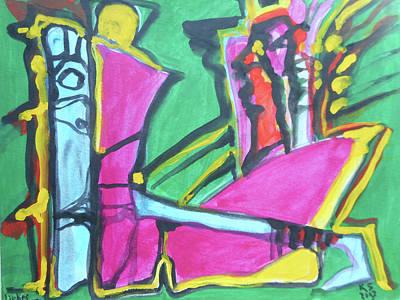 Lovers Iv Original by Katerina Stamatelos