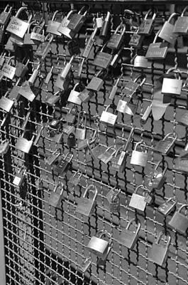 Locket Photograph - Lovers Locks 1 by Noah Cole