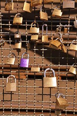 Locket Photograph - Lovers Locks 2 by Noah Cole