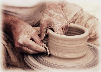 Loving Hands Creation Print by Emanuel Tanjala