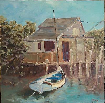 Painting - Low Tide Bahamas by Brent Moody