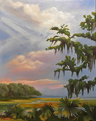 Painting - Lowcountry by Karen Macek