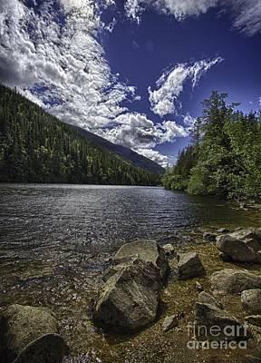 Lower Dewey Lake Print by Dennis Wagner