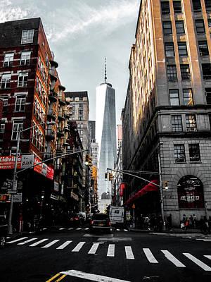 New York Photograph - Lower Manhattan One Wtc by Nicklas Gustafsson