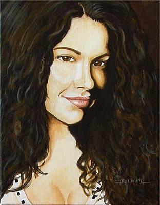 Babylon 5 Painting - Luciana Carro  by Al  Molina