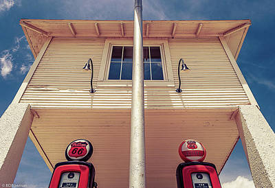 Classic Car Er Photograph - Lucille's by Brandon Bowman