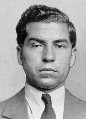 20th Century Photograph - Lucky Luciano 1896-1962 Was Imprisoned by Everett