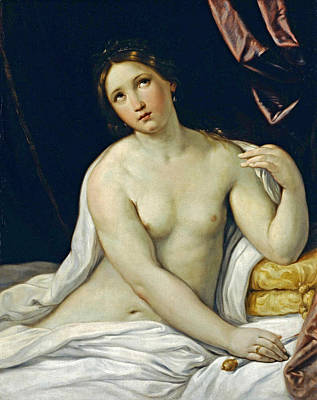 Guido Reni Painting - Lucretia by Guido Reni