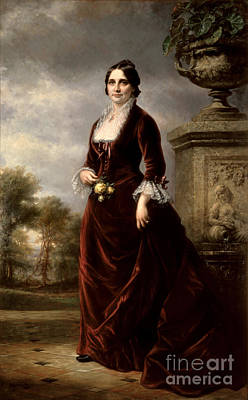 Lucy Hayes, First Lady Print by Science Source
