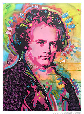 Painting - Ludwig by Dean Russo