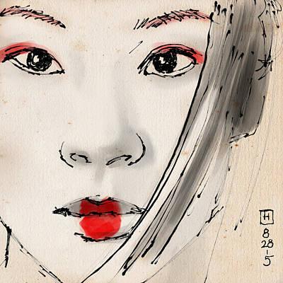 Geisha Drawings For Sale