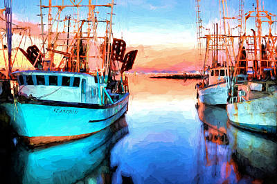 Luminance On Pensacola Bay Print by JC Findley
