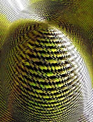 Will Power Digital Art - Luminous Energy 11 by Will Borden