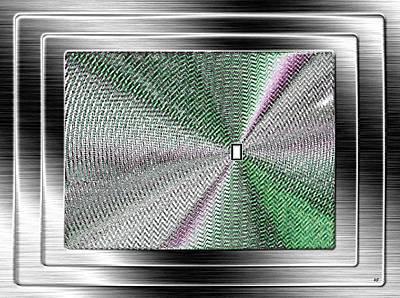 Will Power Digital Art - Luminous Energy 13 by Will Borden