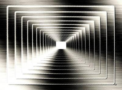 Will Power Digital Art - Luminous Energy 3 by Will Borden