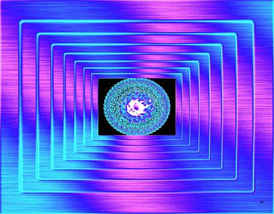 Will Power Digital Art - Luminous Energy 9 by Will Borden