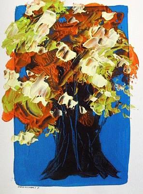 Luminous Drawing - Luminous Leaves by John Williams