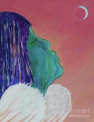 Painting - Luna by Jade