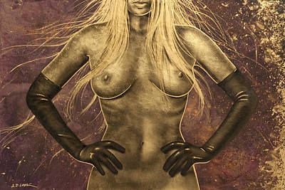 Painting - Lux Lady - Nev 2 by AD Cook