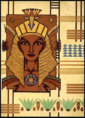 Papyrus Painting - Luxor Deluxe by Tara Hutton