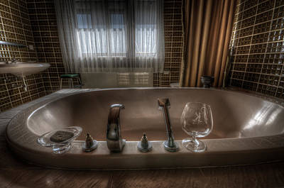 Luxury Bath  Print by Nathan Wright