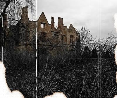 Haunted Mansion Digital Art - Luxury No More by Stewart Scott