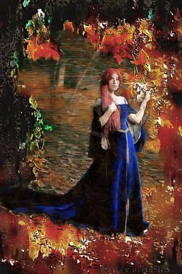 Digital Art - Lyanna Stark by Mario Carini