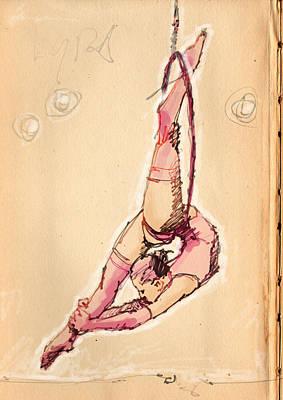 Lyra In Pink Print by H James Hoff