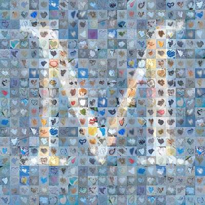 Digital Art - M In Cloud by Boy Sees Hearts
