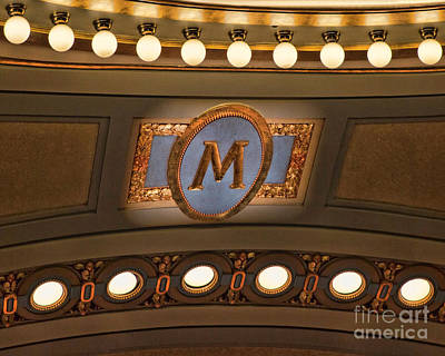 University Of Michigan Digital Art - M Is For University Of Michigan by Rebecca Snyder