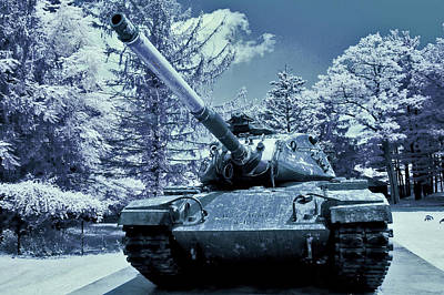 M60 Tank Us Army Print by Dimitri Meimaris