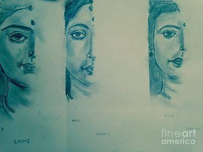Ma Durga Print by Navroz  Raje
