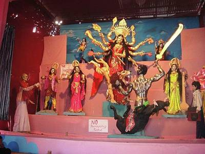Goddess Durga Photograph - Maa Durga by Joni Mazumder