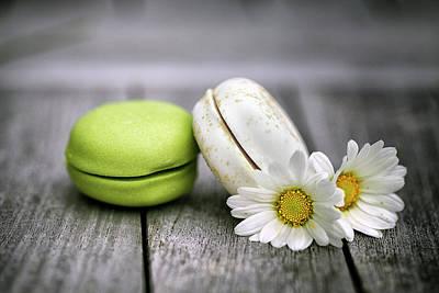 Sugar Photograph - Macarons by Nailia Schwarz
