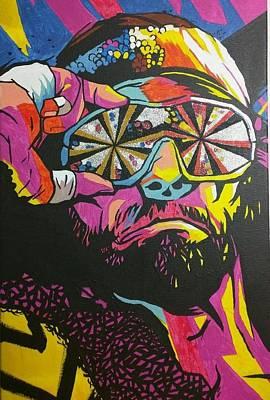 Randy Macho Man Savage Painting - Macho Man Randy Savage by Ralph Rivera