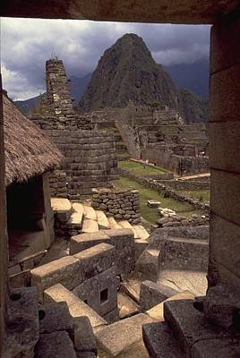 Print featuring the photograph Machu Picchu by Travel Pics