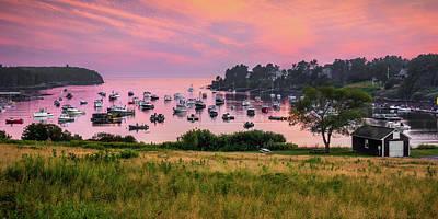 Bailey Island Photograph - Mackerel Cove by Benjamin Williamson