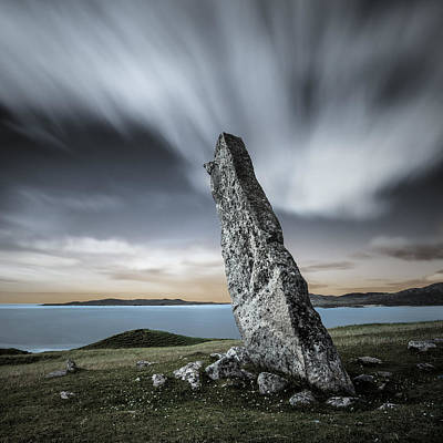 Macleod's Stone Print by Dave Bowman