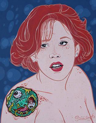 Madball Painting - Mad Molly  Original Available by Jason  Wright