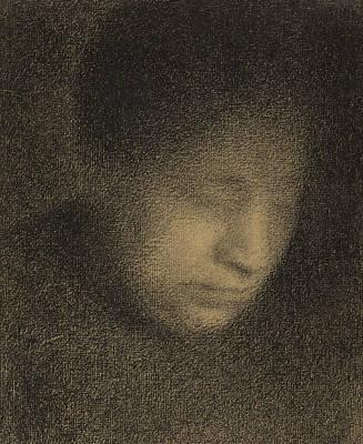 Madame Seurat Print by Georges Pierre Seurat