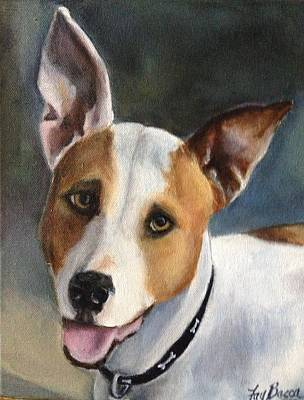 Maddox Painting - Terrier - Maddox by FayBecca