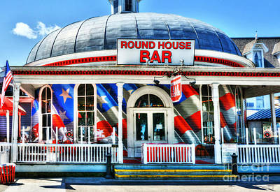 Round Building Photograph - Made In The U S A by Mel Steinhauer