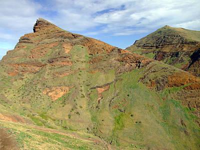 Madeira Mountains Original by John Quinn